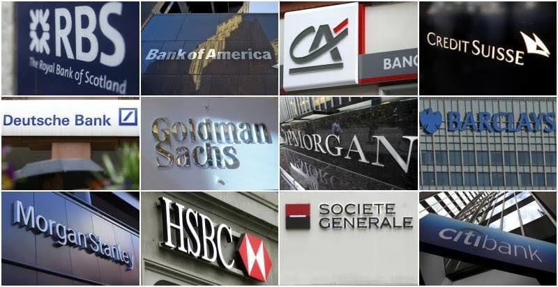 Bancos estadounidenses con mucho mejor desempeño que las entidades financieras europeas