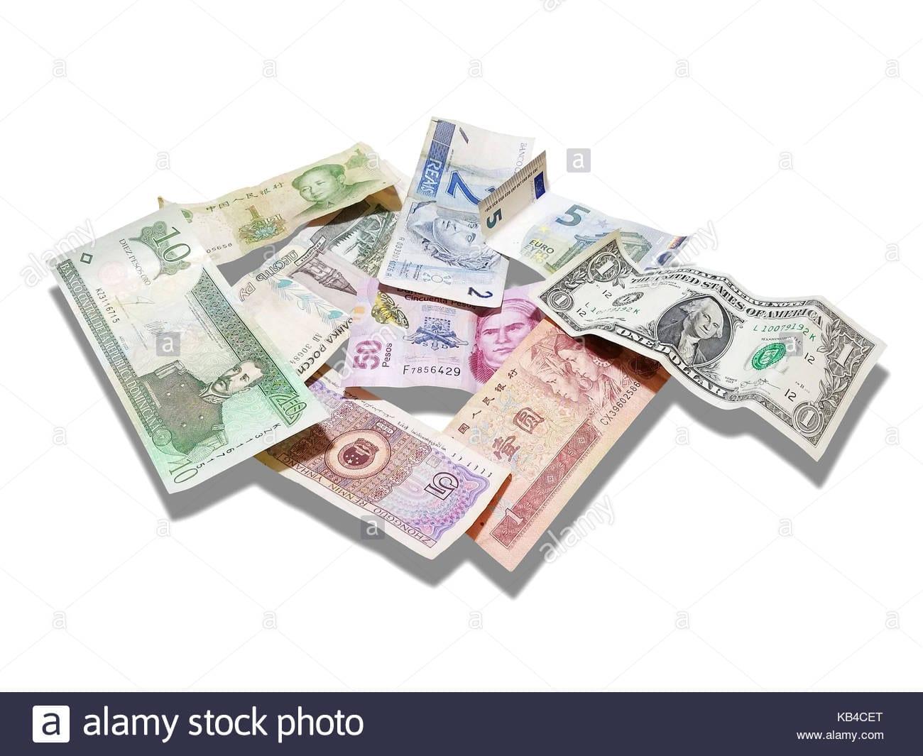 Us Dolar Euro El Rublo Ruso Peso