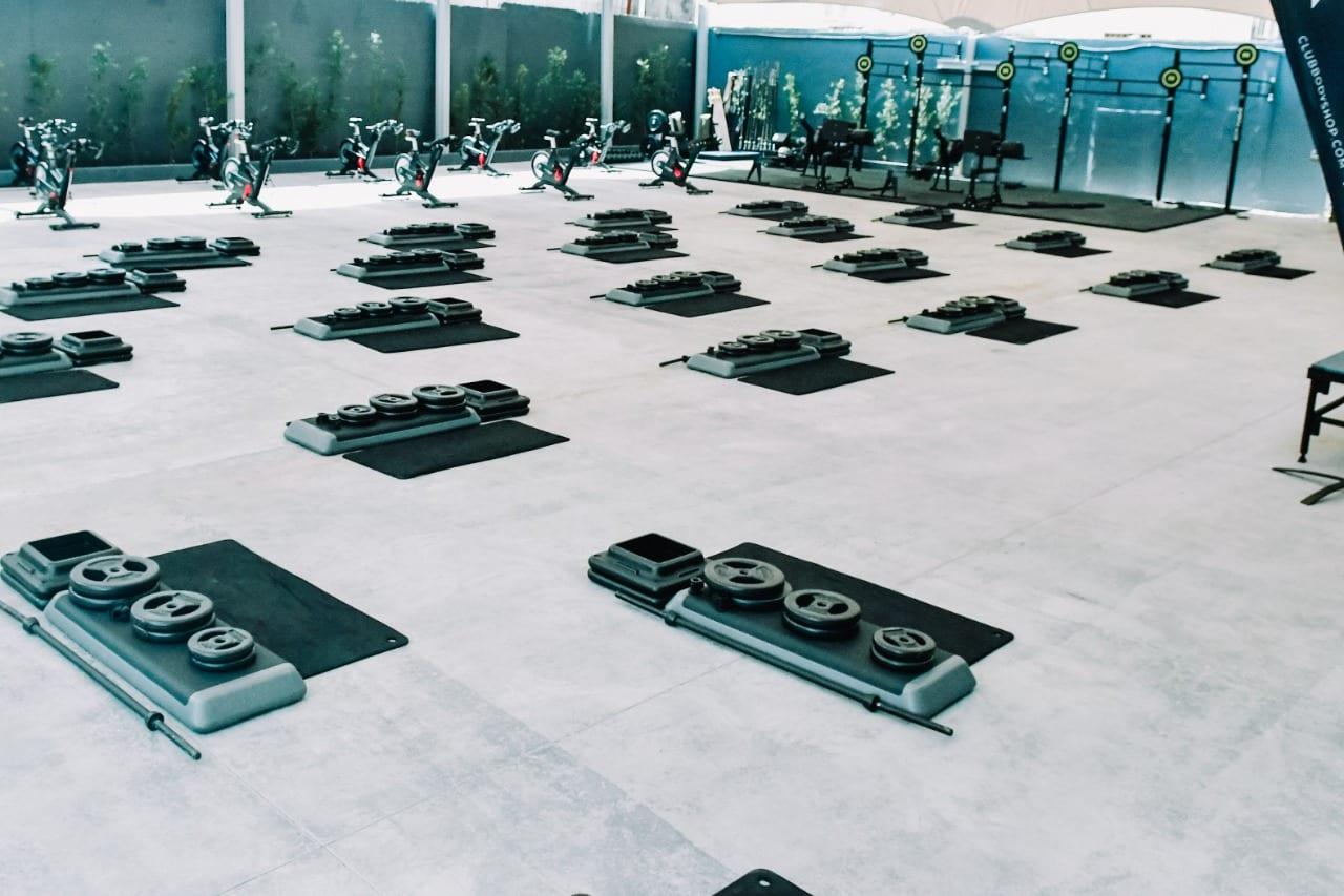 Club Body Shop inaugura espacios al aire libre para el entrenamiento seguro