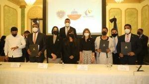 INAIPI firma acuerdo con LMD y FEDOMU en beneficio a la primera infancia
