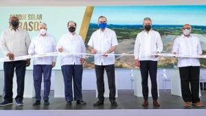 Presidente Abinader destaca el impacto del Parque Solar Girasol, inaugurado con una inversión de USD$100 millones por EGE Haina