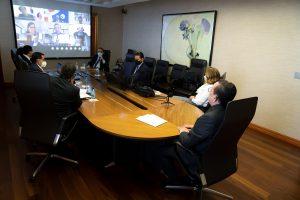 Valdez Albizu confirma avances firmes hacia la creación de un 'hub' de innovación financiera en RD, antes de concluir 2021